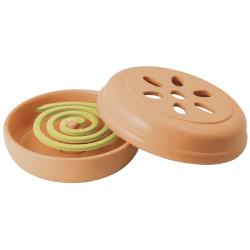 Portaspirale PENGO - HO-Me Twist contenitore in terracotta naturale con 10 spirali