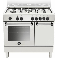 Cucina a gas La Germania - AMN9P5EBV Forno elettrico Piano cottura a gas 90 cm