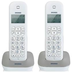 Telefono fisso Brondi - Gala Twin Bianco