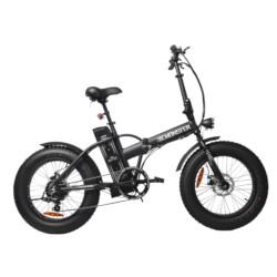 Bicicletta elettrica BEBIKE - Be Monster LFD2 in Alluminio ruote 20'' Nero