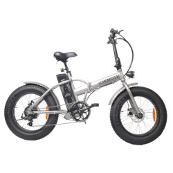 Bicicletta elettrica BEBIKE - Be Monster LFD2 ruote 20'' Titanio-Alluminio
