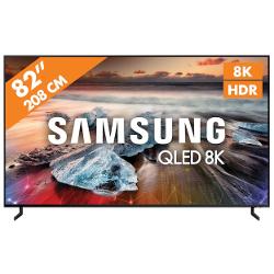 "TV QLED Samsung - QE82Q950RBT 82 "" 8K Smart Flat HDR"