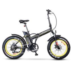 Bicicletta TekkDrone - Argento Bike Mini Max Nero pieghevole