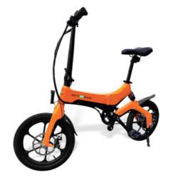 "Bicicletta elettrica BIT BIKE - MGO/OR ruote 16"" Arancione"