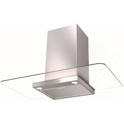 Cappa FABER - DCH33 SRM LED SS19A A parete 89.8 cm 420 m3/h Vetro, Acciaio inossidabile