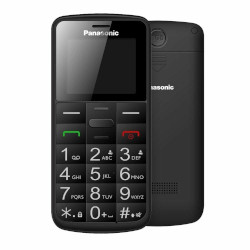 Telefono cellulare Panasonic - Kx-tu110exb Black Easy Phone