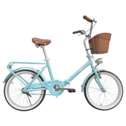 Bicicletta BEBIKE - La Mia ruote 20'' Pieghevole color Turchese