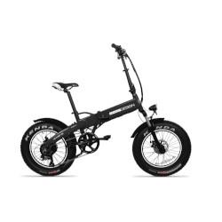 Bicicletta elettrica Momo Design - Malibu 20 Ruote 20'' Nero