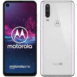 Smartphone Motorola - One Action Bianco 128 GB Dual Sim Fotocamera 12 MP