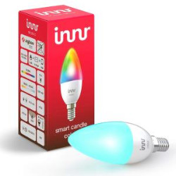Lampadina LED Innr Lighting - SMART CANDLE E14 RGBW/CCT 470LM Zigbee