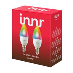 Lampadina LED Innr Lighting - RB 250 C-2 E14 6W smart candle - colour 470LM ZigBee 2 pezzi