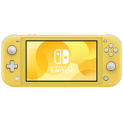 Console Switch Lite console da gioco portatile Giallo Touch screen 32 GB Wi Fi