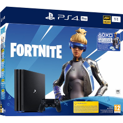 Console Sony - PS4 Pro 1TB Gamma + Fortnite voucher