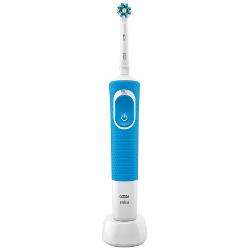 Spazzolino elettrico Oral B Vitality 100 CrossAction Adulto Spazzolino rotante oscillante Blu
