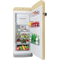 Frigorifero KitchenAid - KCFMA 60150R Doppia porta Classe A++ 60 cm Crema