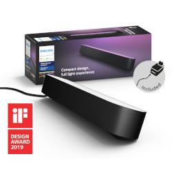 Lampada Philips - Hue Play White&Color, 1 Lampada Smart Kit base alimentatore, Nera