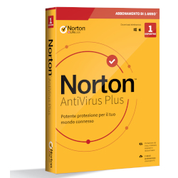 Software Norton - NORTON ANTIVIRUS PLUS 2020 1 anno 1 dispositivo