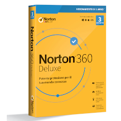 Software Norton - NORTON 360 DELUXE 2020 1 anno- 3 dispositivi