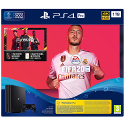 Console Sony - PS4 Pro + FIFA 20 Nero 1000 GB Wi-Fi