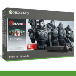 Console Microsoft - Xbox One X Bundle Gears of War 5 (inclusi Gears of War 2, 3, 4)