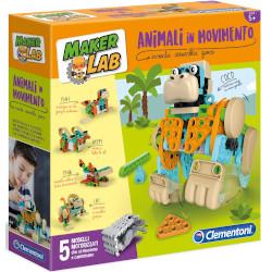 Puzzle Maker Lab Animali in movimento 19098B