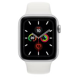 Smartwatch Apple - Watch Series 5 GPS+Cellular 44mm Alluminio Argento cinturino Sport Bianco