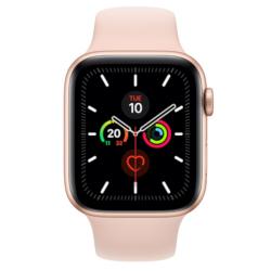 Smartwatch Apple - Watch Series 5 GPS+Cellular 44mm Alluminio Oro cinturino Sport Rosa Sabbia