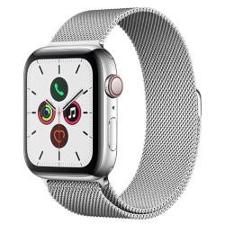 Smartwatch Apple - Watch Series 5 GPS+Cellular 44mm Acciaio con loop maglia milanese