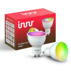 Faretto LED Innr Lighting - COLOUR ZIGBEE 3.0 GU10 - Confezione da 2