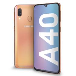 Smartphone Samsung - Galaxy A40 Coral 64 GB Dual Sim Fotocamera 16 MP