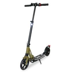 Monopattino elettrico Nilox - DOC ECO 3 - ruote 8'' - 12 km/h - Nero-Senape