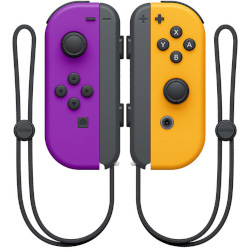 Controller Nintendo - Joy-Con Gamepad Nintendo Switch Bluetooth Nero, Arancione, Porpora