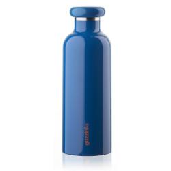 Bottiglia termica GUZZINI - 500 cc Blu Acciaio Inossidabile