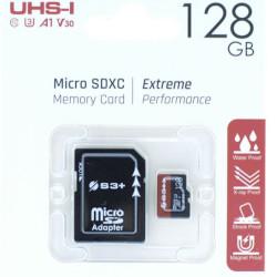 Micro SD S3 PLUS - S3SDC10V30E/128 128GB
