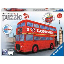 Puzzle Ravensburger - London Bus 3D 12534A