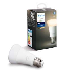 Lampadina LED Philips - Hue White, Lampadina LED  Smart con Bluetooth, Luce calda, E27