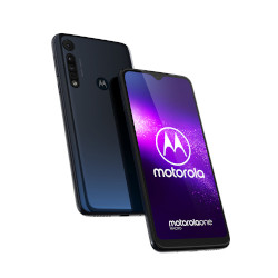 Smartphone Motorola - One Macro Space Blue 64 GB Dual Sim Fotocamera 13 MP