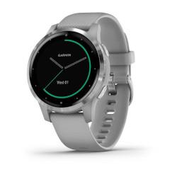 Smartwatch Garmin - VIVOACTIVE 4S GPS WI-FI POWDER GRAY
