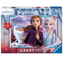 Puzzle Ravensburger - Frozen 2 Giant Pavimento 3036