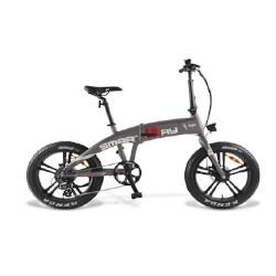 """Bicicletta Smartway - Monster Bike Pieghevole Ruote 20"""" Pieghevole Titanio"""