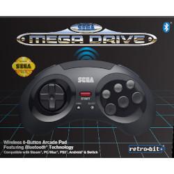 Controller Retro bit sega mega drive game pad senza fili bluetooth 1038488