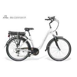 """Bicicletta elettrica BEBIKE - BECOMFORT L6S6 ruote 26"""" Bianca"""