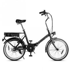 Bicicletta Smartway - UNISEX F3 Pieghevole Nera