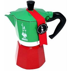 Caffettiera Bialetti - La Mokina Tricolore 1 tazza