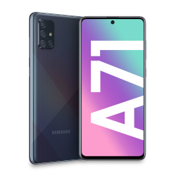 Smartphone Samsung - Galaxy A71 Prism Crush Black 128 GB Dual Sim Fotocamera 64 MP
