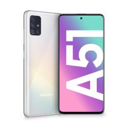 Image of Smartphone Galaxy A51 Prism Crush White 128 GB Dual Sim Fotocamera 48 MP