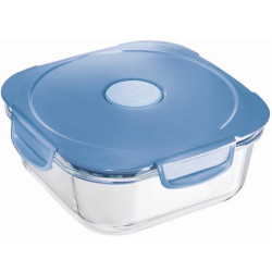 Contenitore Maped - Lunch box in Vetro Blu