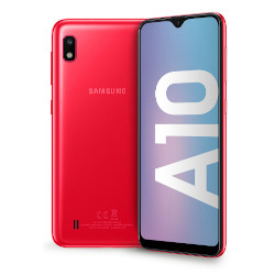 Smartphone Samsung - Galaxy A10 Red 32 GB Dual Sim Fotocamera 13 MP
