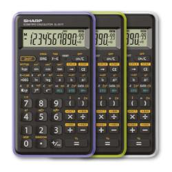 Image of Calcolatrice EL-501TBWH Scientifica 10 Cifre - Bianco