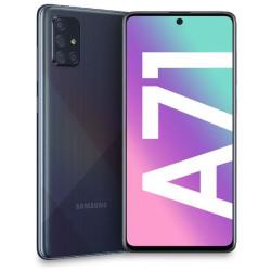 Smartphone Samsung - Samsung Galaxy A71 Prism Crush Black 128 GB Dual Sim Fotocamera 64 MP